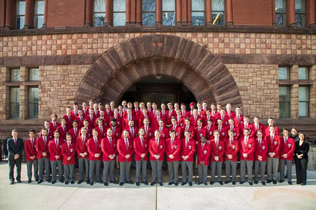 Men's Glee Club at Hayes Hall