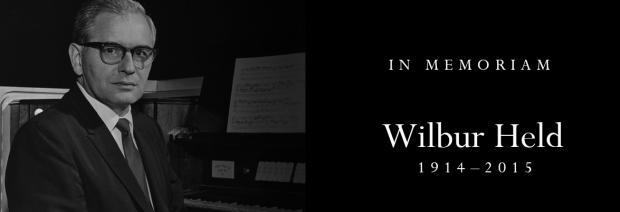 In Memoriam: Wilbur Held (1914-2015)