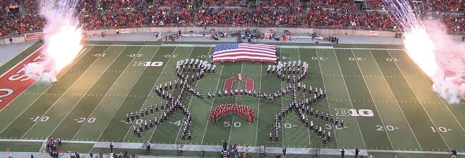 Performing at Ohio Stadium