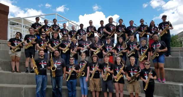 Saxophone Camp 2017