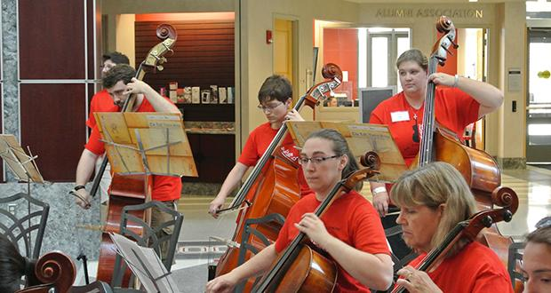 String Teacher Workshop performance at The Ohio Union