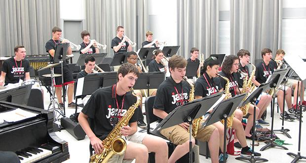 Jazz Camp big band 2