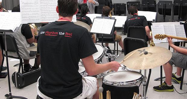 Jazz Camp big band