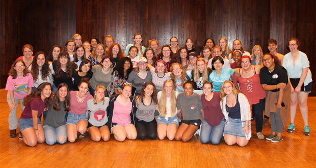 Full ensemble after our Fall Member Retreat