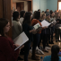 Singing for the young adults at Huckleberry House